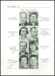 Page 16, 1951 Edition, Danville High School - Clarion Yearbook (Danville, OH) online yearbook collection