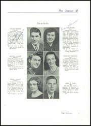 Page 21, 1951 Edition, Danville High School - Clarion Yearbook (Danville, OH) online yearbook collection
