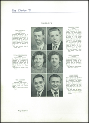 Page 22, 1951 Edition, Danville High School - Clarion Yearbook (Danville, OH) online yearbook collection