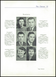 Page 23, 1951 Edition, Danville High School - Clarion Yearbook (Danville, OH) online yearbook collection