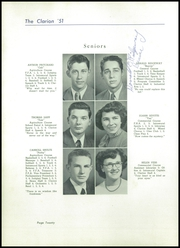 Page 24, 1951 Edition, Danville High School - Clarion Yearbook (Danville, OH) online yearbook collection