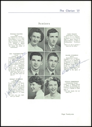 Page 25, 1951 Edition, Danville High School - Clarion Yearbook (Danville, OH) online yearbook collection