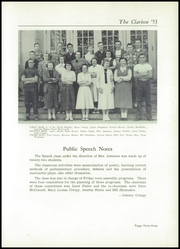 Page 47, 1953 Edition, Danville High School - Clarion Yearbook (Danville, OH) online yearbook collection