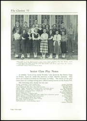 Page 52, 1953 Edition, Danville High School - Clarion Yearbook (Danville, OH) online yearbook collection