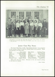Page 53, 1953 Edition, Danville High School - Clarion Yearbook (Danville, OH) online yearbook collection