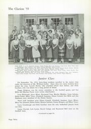 Page 34, 1955 Edition, Danville High School - Clarion Yearbook (Danville, OH) online yearbook collection