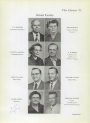 Page 15, 1956 Edition, Danville High School - Clarion Yearbook (Danville, OH) online yearbook collection