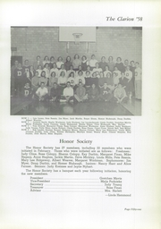 Page 55, 1958 Edition, Danville High School - Clarion Yearbook (Danville, OH) online yearbook collection