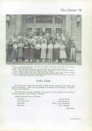 Page 57, 1958 Edition, Danville High School - Clarion Yearbook (Danville, OH) online yearbook collection