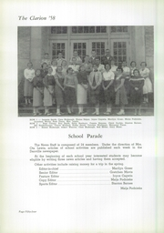 Page 58, 1958 Edition, Danville High School - Clarion Yearbook (Danville, OH) online yearbook collection