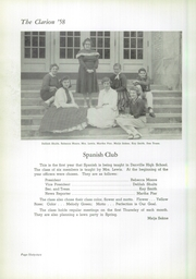 Page 66, 1958 Edition, Danville High School - Clarion Yearbook (Danville, OH) online yearbook collection