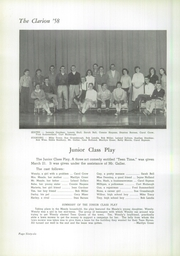 Page 70, 1958 Edition, Danville High School - Clarion Yearbook (Danville, OH) online yearbook collection
