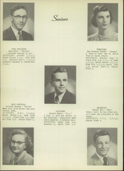 Page 12, 1952 Edition, Holgate High School - Tiger Tales Yearbook (Holgate, OH) online yearbook collection