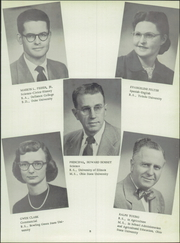 Page 11, 1954 Edition, Holgate High School - Tiger Tales Yearbook (Holgate, OH) online yearbook collection