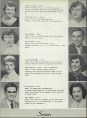 Page 17, 1954 Edition, Holgate High School - Tiger Tales Yearbook (Holgate, OH) online yearbook collection