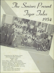Page 7, 1954 Edition, Holgate High School - Tiger Tales Yearbook (Holgate, OH) online yearbook collection