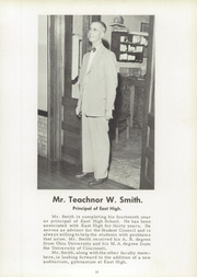 Page 17, 1955 Edition, East High School - Tartan Yearbook (Portsmouth, OH) online yearbook collection