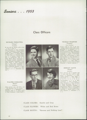 Page 16, 1953 Edition, Lowellville High School - Echo Yearbook (Lowellville, OH) online yearbook collection