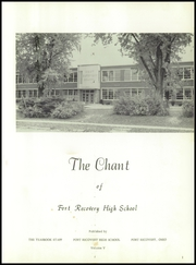 Page 5, 1960 Edition, Fort Recovery High School - Chant Yearbook (Fort Recovery, OH) online yearbook collection