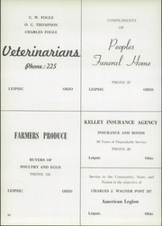Page 11, 1952 Edition, Leipsic High School - Le Hi Yearbook (Leipsic, OH) online yearbook collection