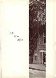 Page 7, 1934 Edition, Greenville College - Vista Yearbook (Greenville, IL) online yearbook collection