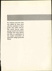 Page 7, 1969 Edition, Greenville College - Vista Yearbook (Greenville, IL) online yearbook collection