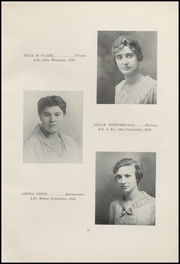 Page 17, 1921 Edition, Nelsonville High School - Saga Yearbook (Nelsonville, OH) online yearbook collection