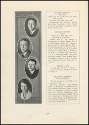 Page 12, 1923 Edition, Nelsonville High School - Saga Yearbook (Nelsonville, OH) online yearbook collection