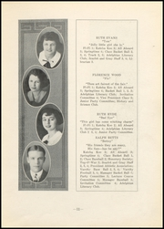 Page 13, 1923 Edition, Nelsonville High School - Saga Yearbook (Nelsonville, OH) online yearbook collection
