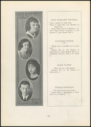 Page 14, 1923 Edition, Nelsonville High School - Saga Yearbook (Nelsonville, OH) online yearbook collection