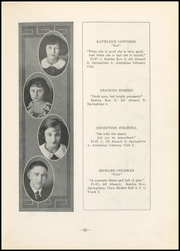Page 17, 1923 Edition, Nelsonville High School - Saga Yearbook (Nelsonville, OH) online yearbook collection