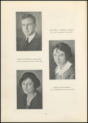 Page 8, 1923 Edition, Nelsonville High School - Saga Yearbook (Nelsonville, OH) online yearbook collection