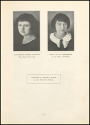 Page 9, 1923 Edition, Nelsonville High School - Saga Yearbook (Nelsonville, OH) online yearbook collection