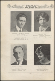 Page 12, 1925 Edition, Nelsonville High School - Saga Yearbook (Nelsonville, OH) online yearbook collection
