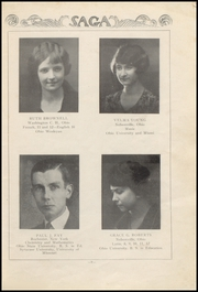 Page 13, 1925 Edition, Nelsonville High School - Saga Yearbook (Nelsonville, OH) online yearbook collection