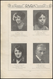 Page 14, 1925 Edition, Nelsonville High School - Saga Yearbook (Nelsonville, OH) online yearbook collection