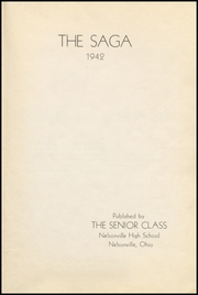 Page 5, 1942 Edition, Nelsonville High School - Saga Yearbook (Nelsonville, OH) online yearbook collection