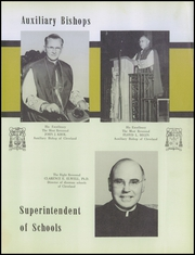 Page 17, 1956 Edition, Cathedral Latin School - Purple and Gold Yearbook (Cleveland, OH) online yearbook collection