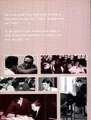 Page 10, 1967 Edition, Cathedral Latin School - Purple and Gold Yearbook (Cleveland, OH) online yearbook collection