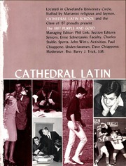 Page 5, 1967 Edition, Cathedral Latin School - Purple and Gold Yearbook (Cleveland, OH) online yearbook collection