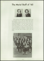Page 80, 1946 Edition, Marymount High School - Maryvue Yearbook (Garfield Heights, OH) online yearbook collection