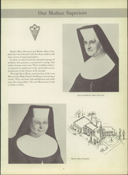 Page 13, 1956 Edition, Marymount High School - Maryvue Yearbook (Garfield Heights, OH) online yearbook collection