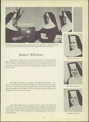 Page 17, 1956 Edition, Marymount High School - Maryvue Yearbook (Garfield Heights, OH) online yearbook collection