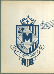 Page 2, 1956 Edition, Marymount High School - Maryvue Yearbook (Garfield Heights, OH) online yearbook collection