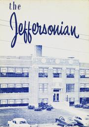 1955 Edition, Jefferson High School - Jeffersonian Yearbook (Dayton, OH)