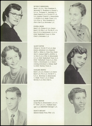 Page 15, 1955 Edition, Jefferson High School - Jeffersonian Yearbook (Dayton, OH) online yearbook collection