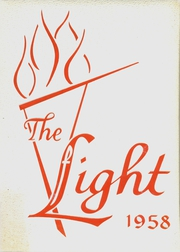 1958 Edition, Hoban Dominican High School - Light Yearbook (Cleveland, OH)