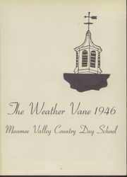 Page 5, 1946 Edition, Maumee Valley Country Day High School - Weather Vane Yearbook (Toledo, OH) online yearbook collection