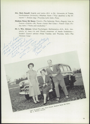 Page 17, 1950 Edition, Maumee Valley Country Day High School - Weather Vane Yearbook (Toledo, OH) online yearbook collection