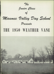 Page 5, 1950 Edition, Maumee Valley Country Day High School - Weather Vane Yearbook (Toledo, OH) online yearbook collection